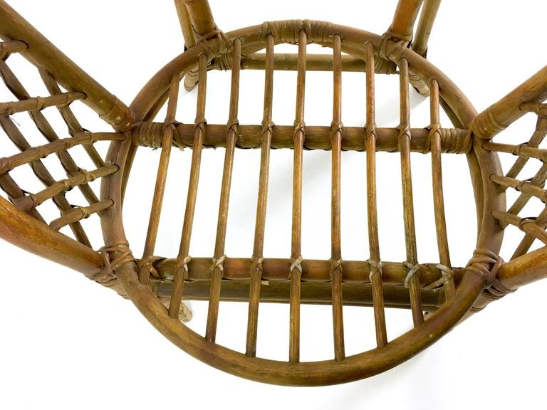 Vintage Wicker Set, Italy, 1950s For Sale 4