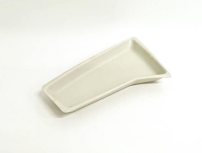Lacquered Ceramic Ashtray by Antonia Campi for Verbano, Italy, 1950s 6
