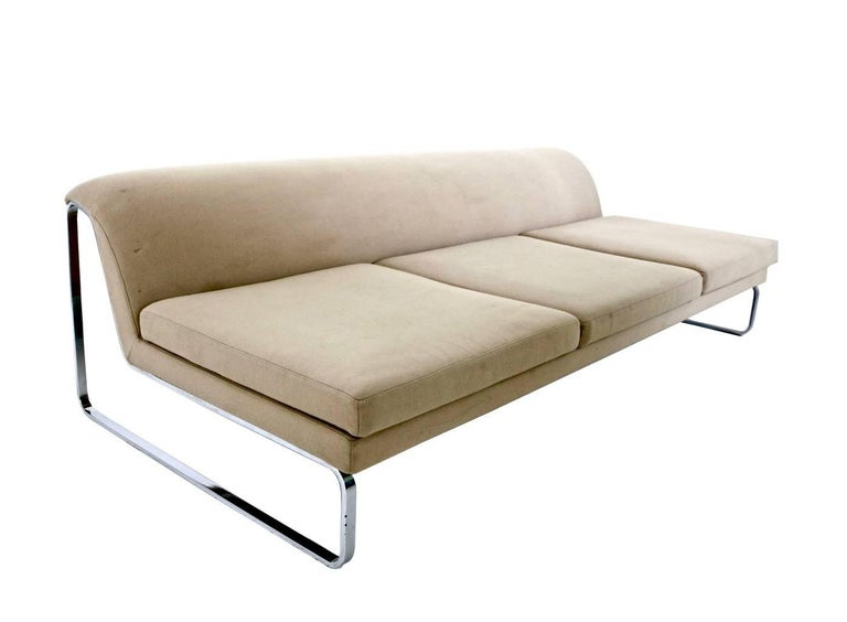 Beige Sofa Designed by Gordon Guillaumier with Fabric by Tacchini, Italy, 2000s In Excellent Condition For Sale In Bresso, Lombardy