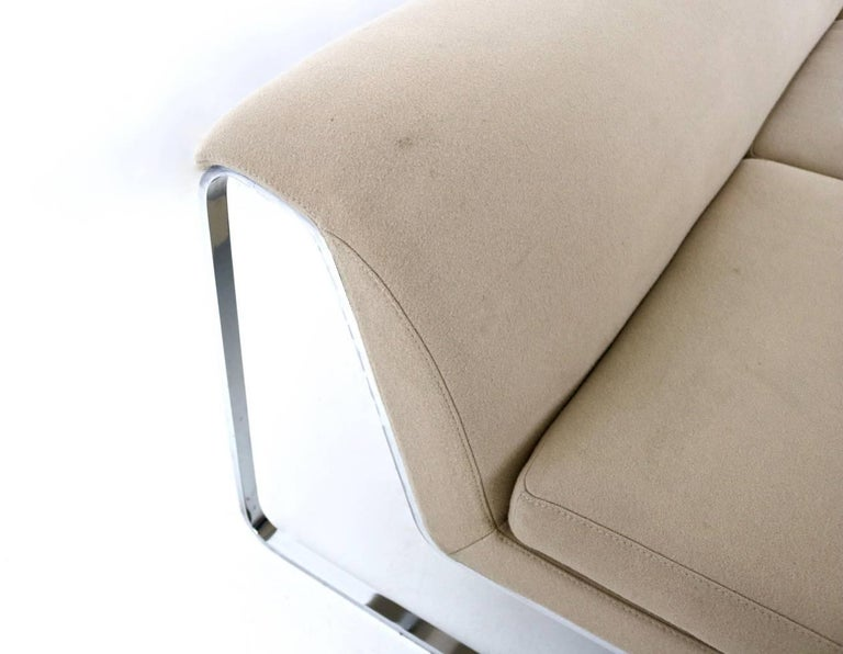 Beige Sofa Designed by Gordon Guillaumier with Fabric by Tacchini, Italy, 2000s For Sale 1