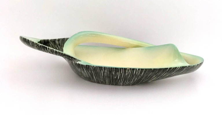 Italian Stunning Sinuous Ceramic Centrepiece by Vibi, Italy, 1950s For Sale