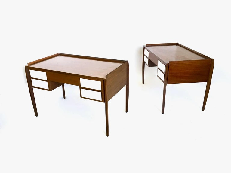 Made in mahogany.