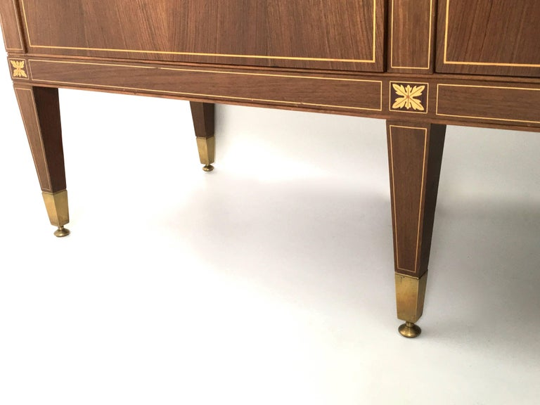 Cabinet Produced by Marelli & Colico Ascribable to Paolo Buffa, Italy, 1950s For Sale 5