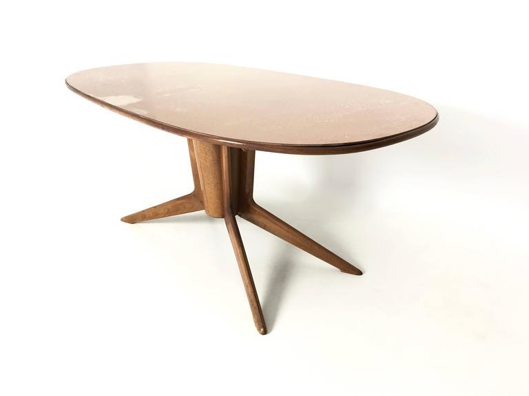 Mahogany Dining Table By Ico And Luisa Parisi 1940s At
