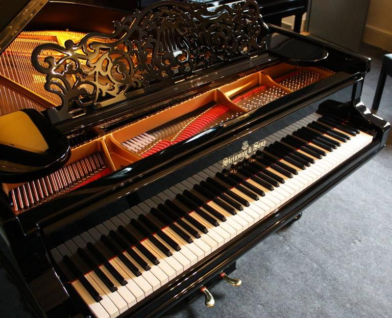 Steinway Model a Restored Grand Piano 4