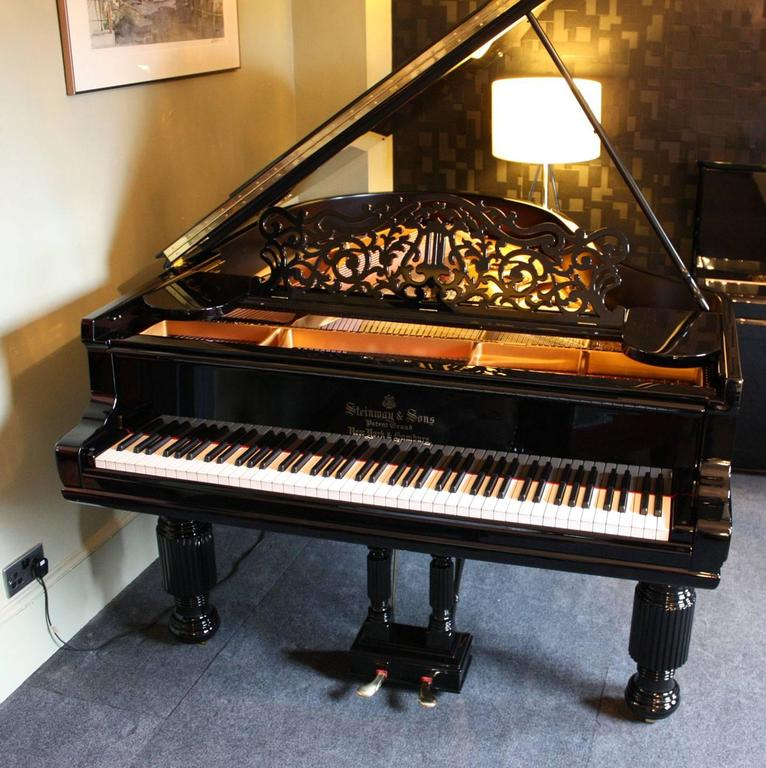 Steinway Model a Restored Grand Piano 2