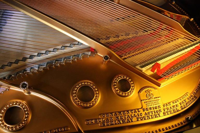 Steinway Model a Restored Grand Piano 7