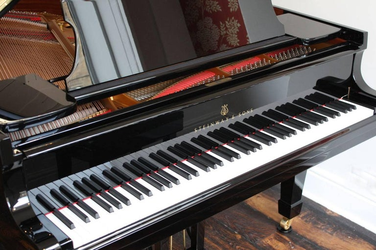 Steinway Model O Restored Grand Piano 3