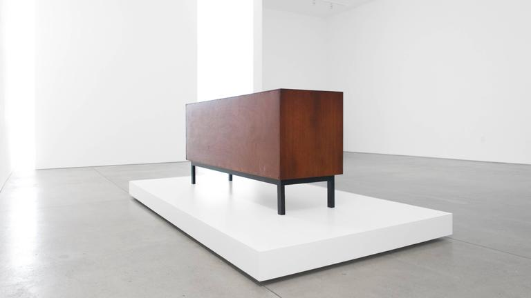 Enameled Charlotte Perriand Cabinet from Cité Cansado, Mauritania