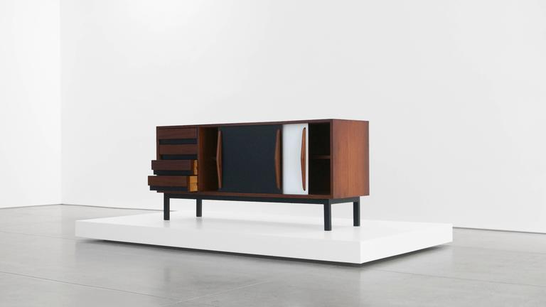 Mid-20th Century Charlotte Perriand Cabinet from Cité Cansado, Mauritania