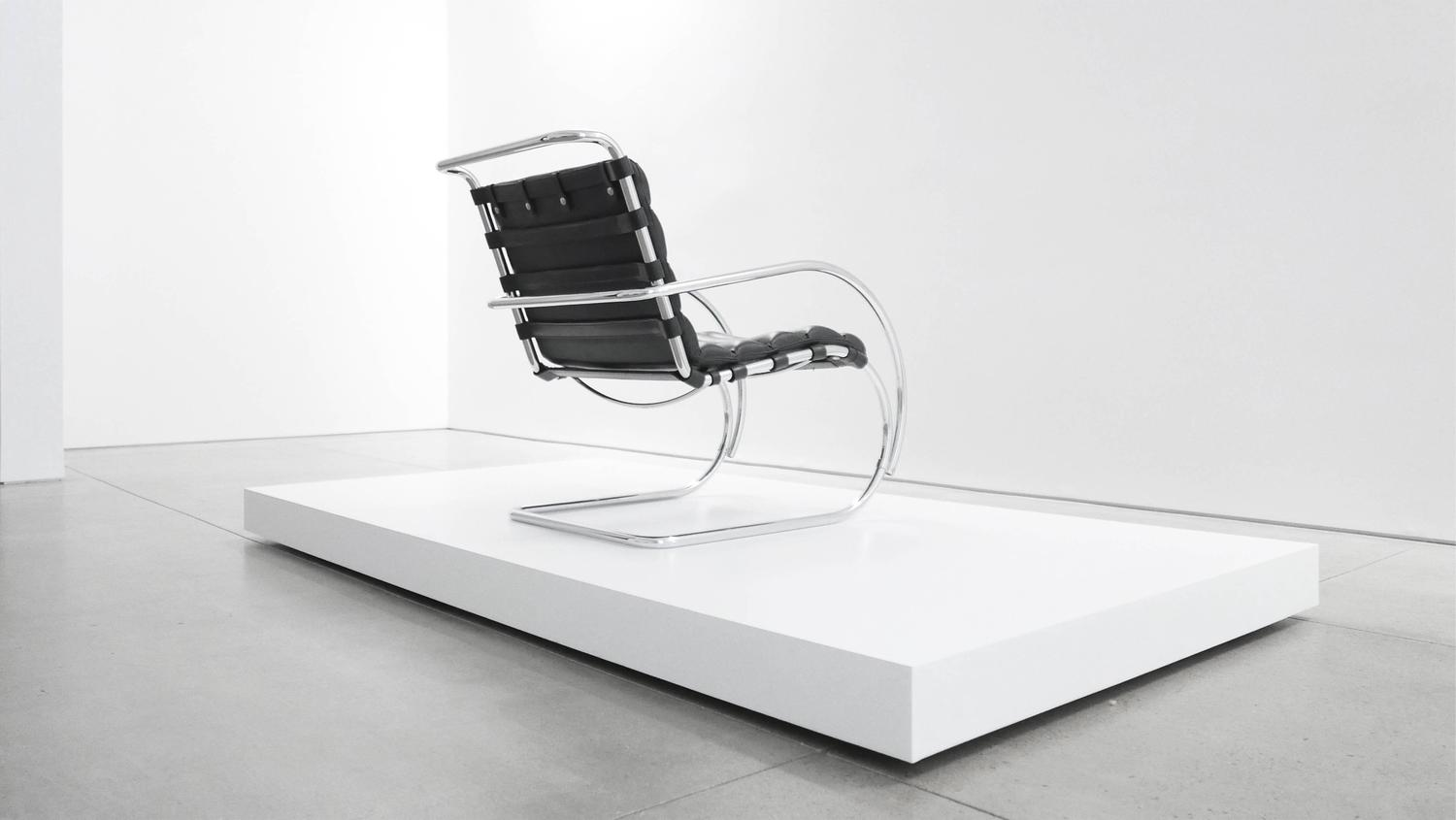 Mies Van Der Rohe MR Lounge Chair For Sale At 1stdibs