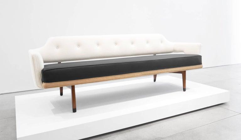 Mid-Century Modern Edward Wormley Sculptural Sofa for Dunbar, circa 1960s For Sale