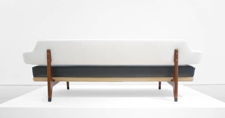 American Edward Wormley Sculptural Sofa for Dunbar, circa 1960s For Sale