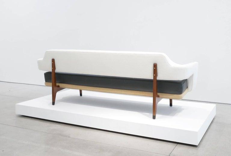 Lacquered Edward Wormley Sculptural Sofa for Dunbar, circa 1960s For Sale