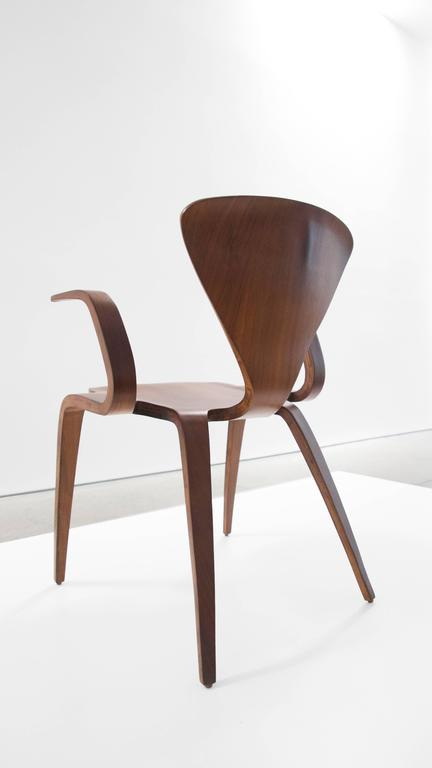 Rare Norman Cherner prototype armchair for Plycraft.