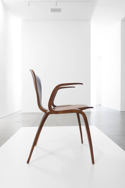 Norman Cherner Rare Prototype Armchair for Plycraft 3