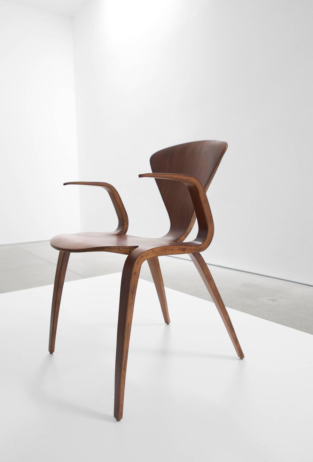 Norman Cherner Rare Prototype Armchair for Plycraft For ...