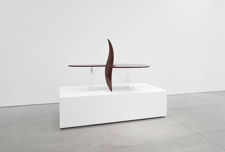 American Modern Michael Coffey 'Encounter' Coffee Table For Sale