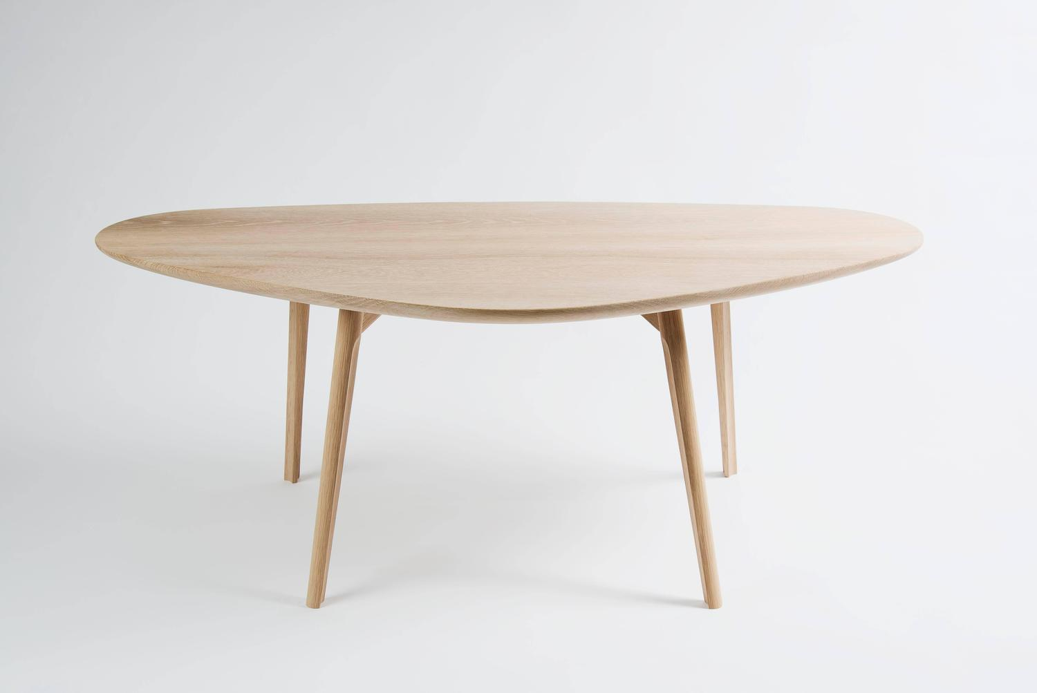 Amazing photo of Lofbelli Solid Oak Coffee Table with Carved Legs and Joinery from CBR  with #6B482C color and 1500x1003 pixels