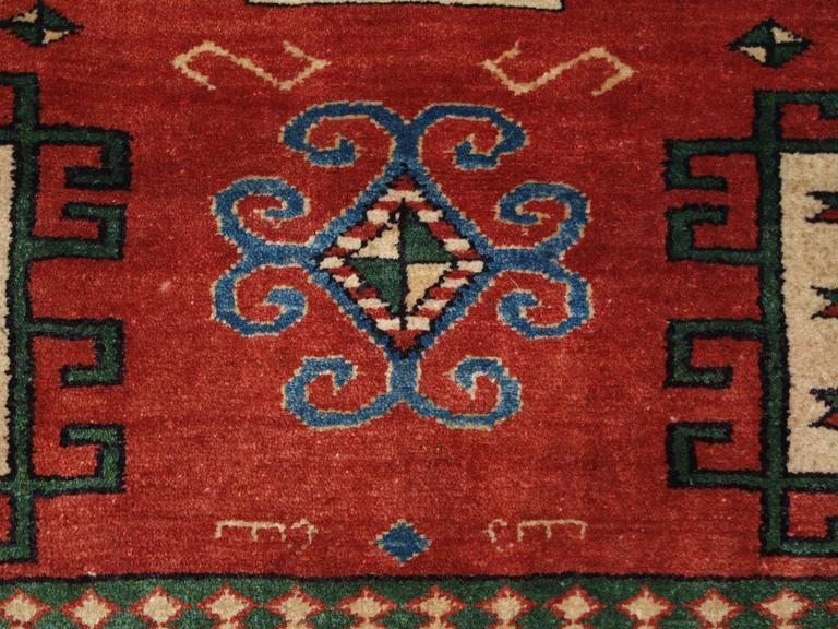 Old Turkish Rug Of The Classic Karachov Kazak Design For Sale At 1stdibs