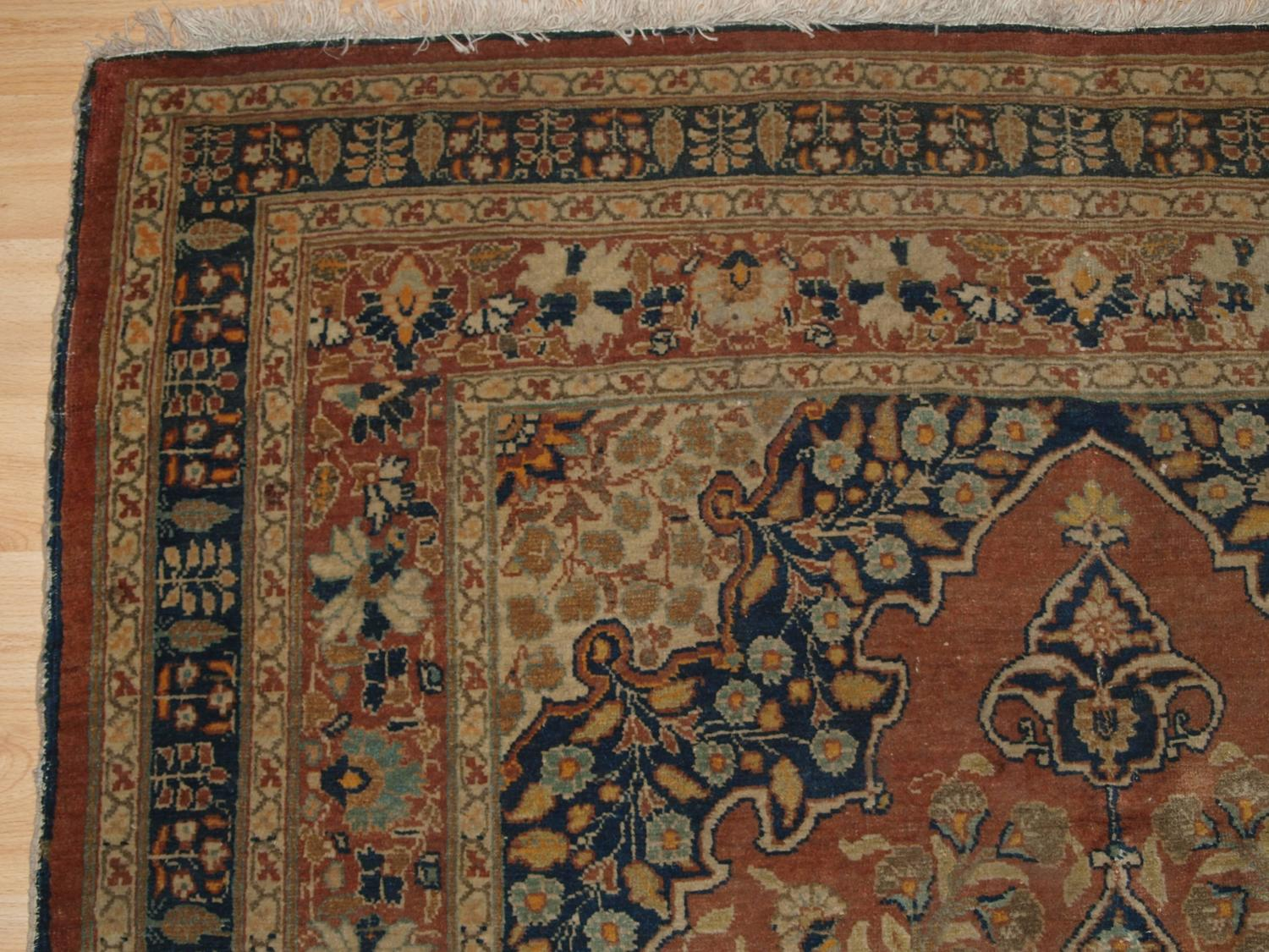 Antique Persian Tabriz Rug Of Classic Design Circa 1900 For Sale At 1stdibs