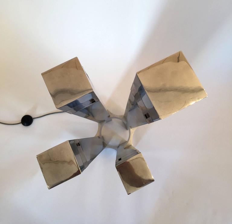 Floor Lamp Cubic by Gaetano Sciolari, 1970s, Italy 2