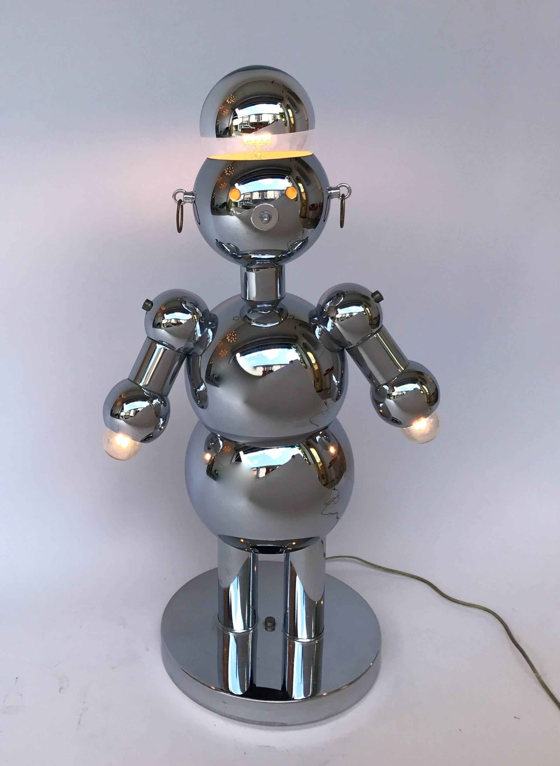 diy lamp robot homemade to build lightg how plumbg a making copper pipe lamps s