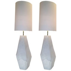 Contemporary Floor Lamps in Ceramic by Roberto Razeni, Italy