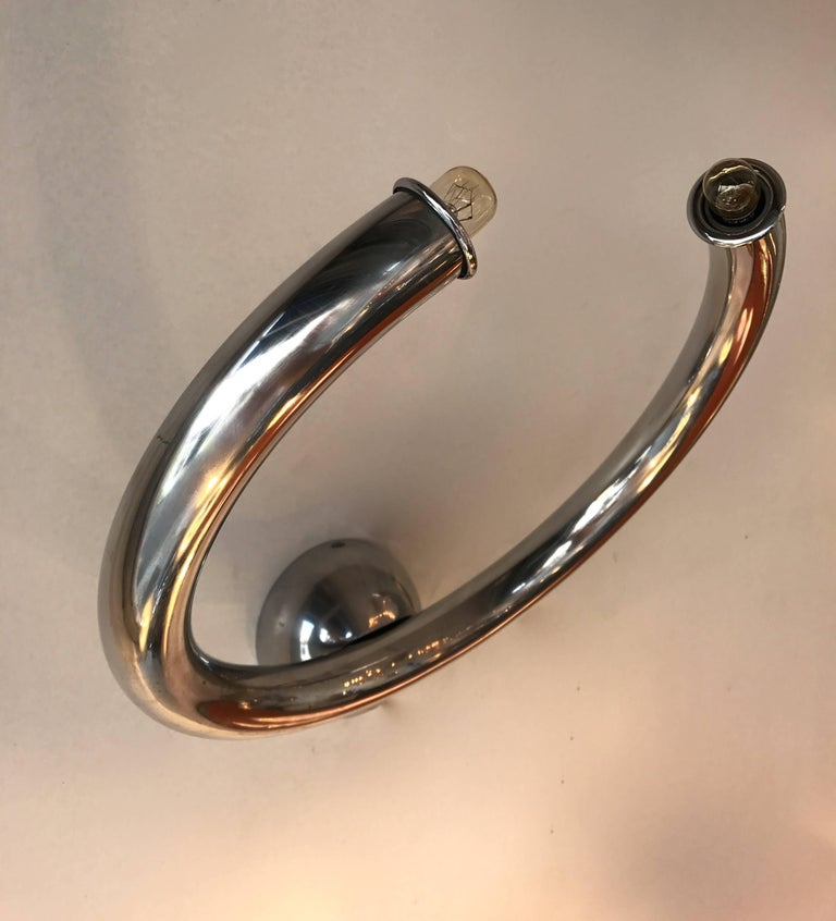 Ring model sconces. Famous manufacture like Sciolari, Willy Rizzo, Romeo Rega, Maison Jansen.
