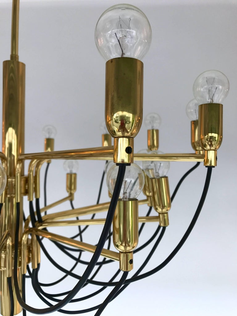 Chandelier By Staff Leuchten Germany 1980s For Sale At