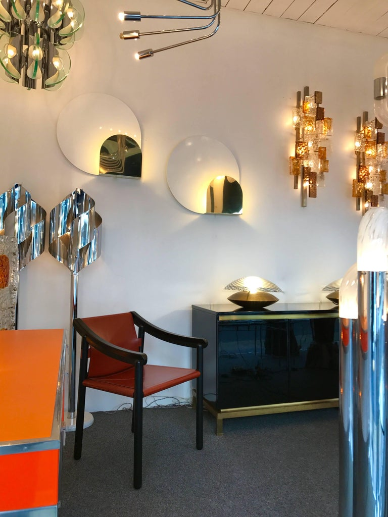 Pair of Sconces by Pia Guidetti Crippa for Lumi, Italy, 1980s In Good Condition For Sale In SAINT-OUEN, FR