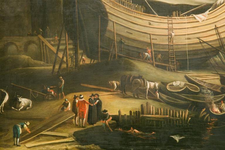 Very Large 19th Century Painting