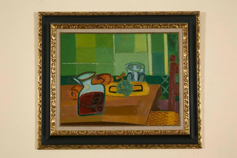 Louis Latapie, 1891-1972, oil on canvas with a wood frame