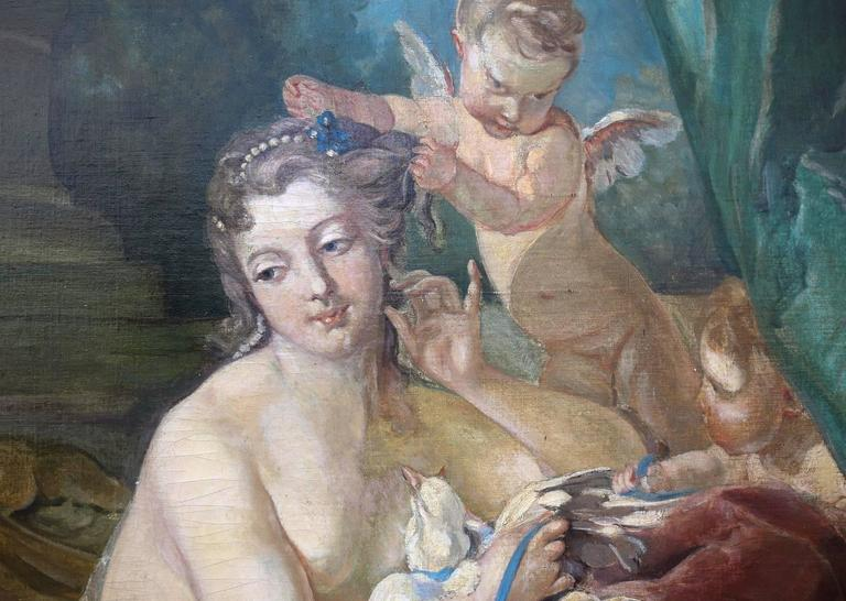 Rococo 19th Century Oil Painting