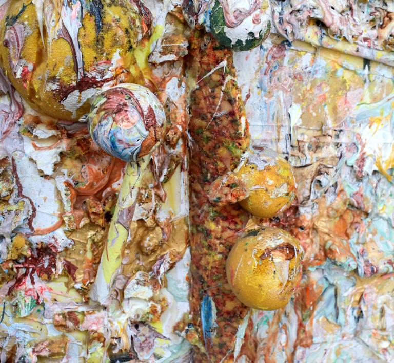 American Larry Poons, Retrieval, 1989 For Sale