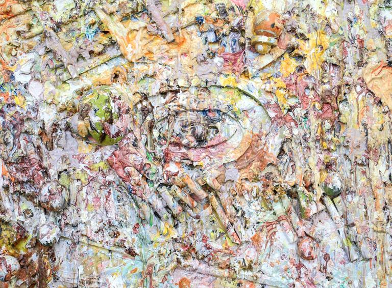 Canvas Larry Poons, Retrieval, 1989 For Sale