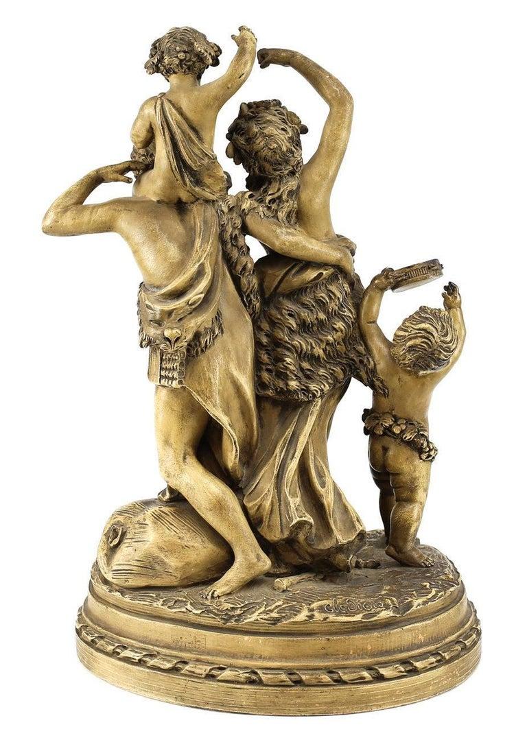 terracotta sculpture triomphe bacchus claude michel clodion for sale at 1stdibs. Black Bedroom Furniture Sets. Home Design Ideas