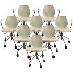 Kartell Maui Adjustable-Height Desk Chairs