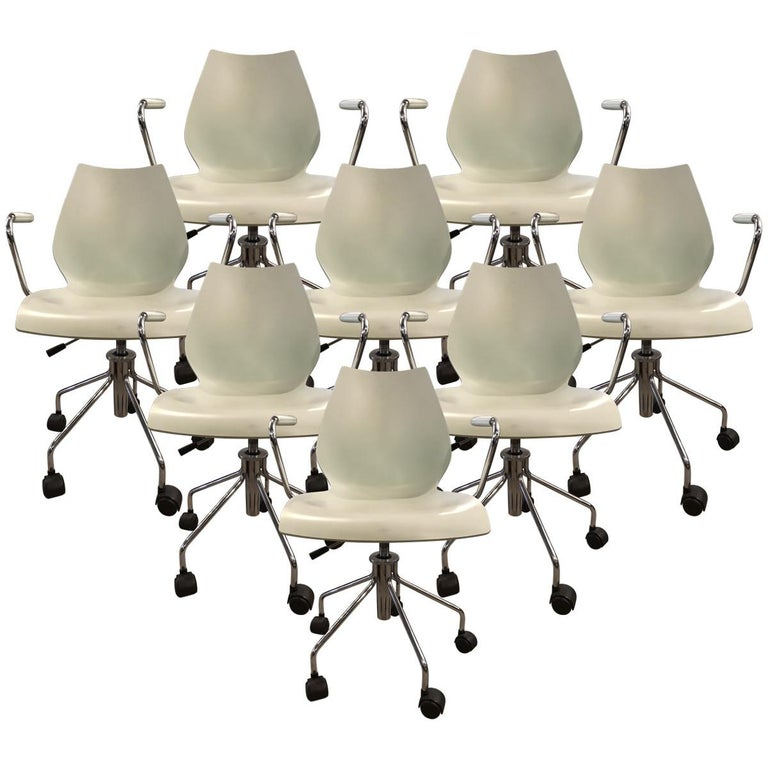 kartell maui adjustable height desk chairs for sale at 1stdibs