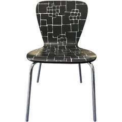 Contemporary Geometric Desk Chair