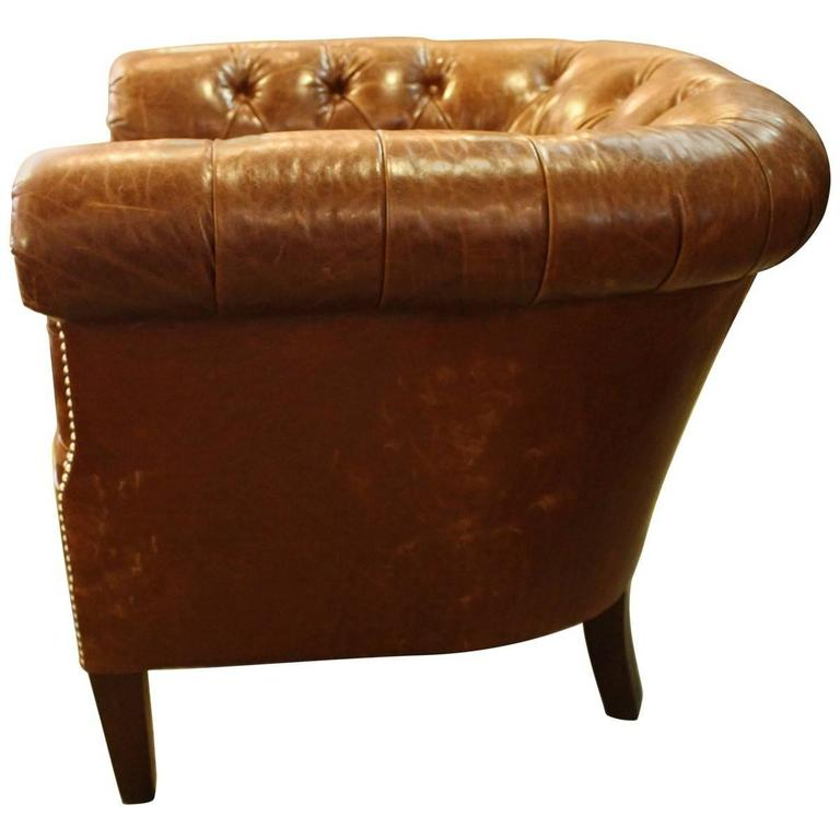 Ralph Lauren Tufted Club Chair 2