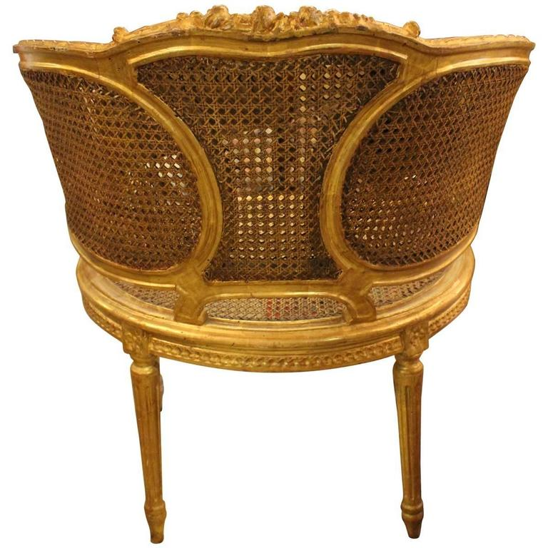 louis xvi style caned bergere chairs at 1stdibs. Black Bedroom Furniture Sets. Home Design Ideas