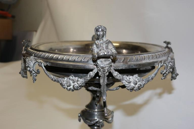 Other 19th Century English Silver Centrepiece For Sale