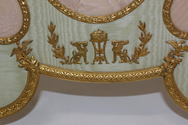 19th Century French Bronze Ormolu Frame In Excellent Condition For Sale In Pasadena, CA