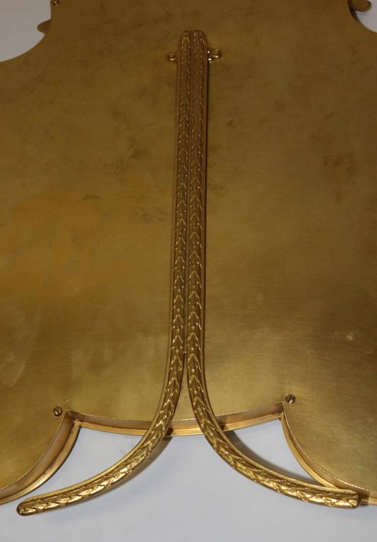19th Century French Bronze Ormolu Frame For Sale 3