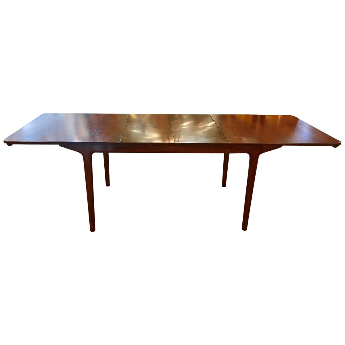 A.H. McIntosh Furniture Midcentury Rosewood Extending Dining Table At  1stdibs