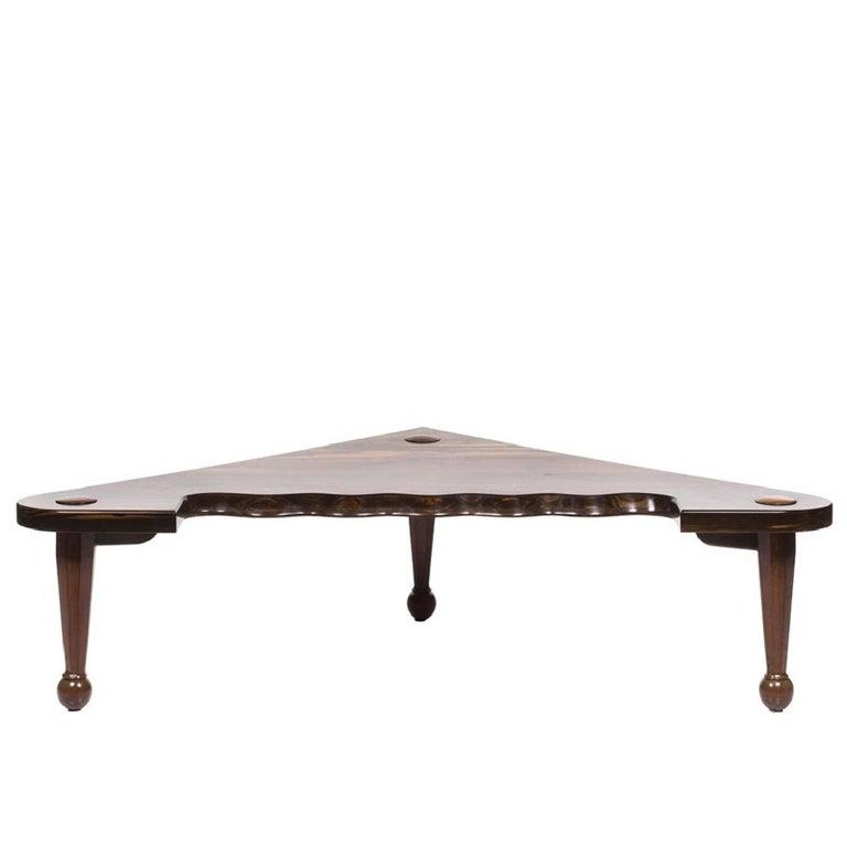 Memphis Style Macassar Coffee Table