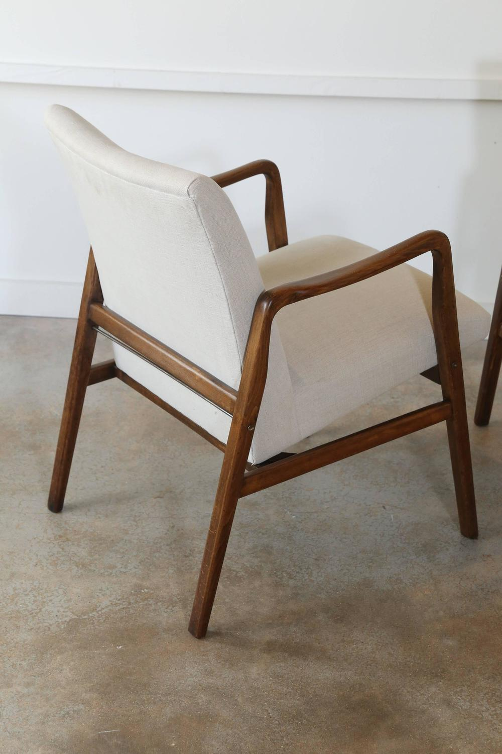 Pair Of Mid Century Armchairs For Sale At 1stdibs