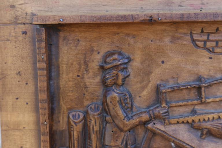 Relief carving on wood for sale at stdibs