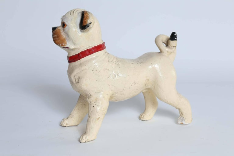 Statue of Pug Dog In Good Condition For Sale In Houston, TX